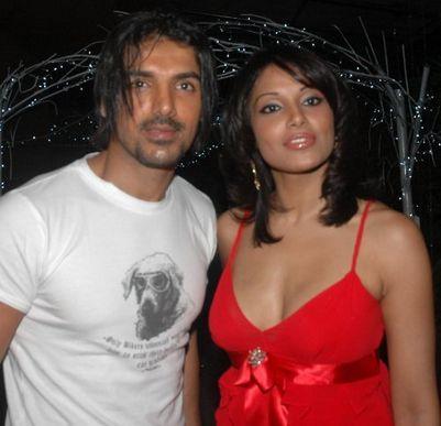 John Abraham and Bipasha Basu