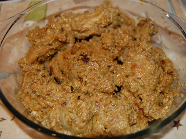 Chicken rejala