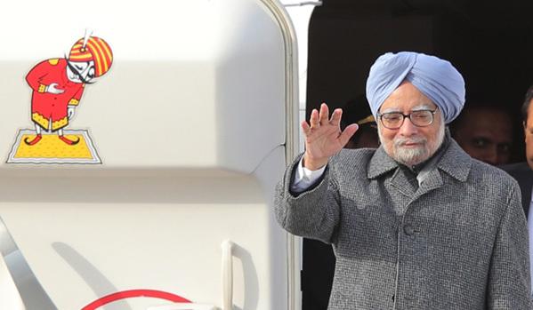 Премьер-министр Индии Манмохан Сингх прибыл с официальным визитом в Москву