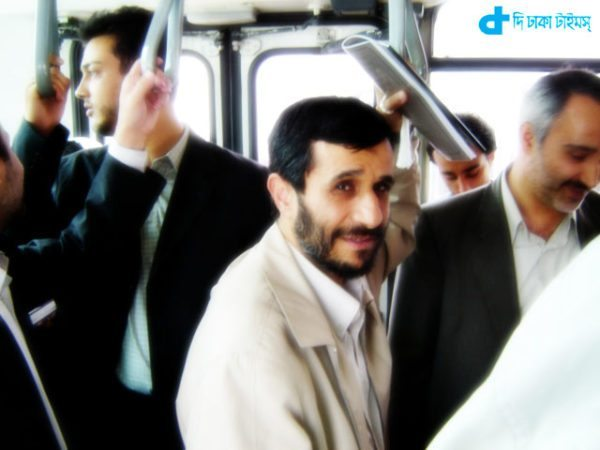 Former Iranian president and bus travel
