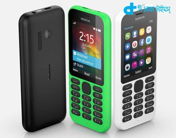 Nokia 215 model