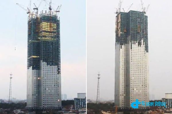 57-storey building in just 19 days