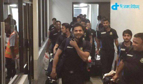 Returned Team Bangladesh