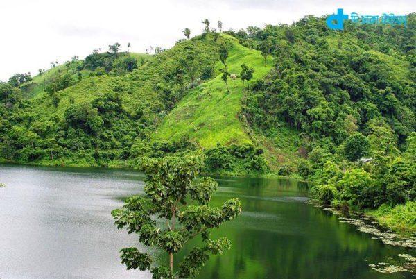 Views of Bandarban hill