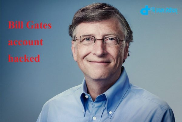Bill Gates account hacked