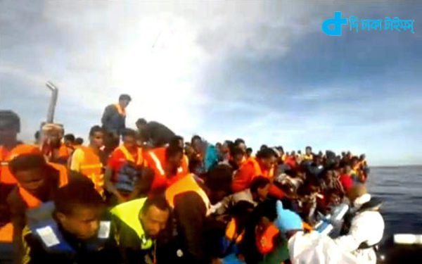 17 body  and 3300 the migrants were rescued