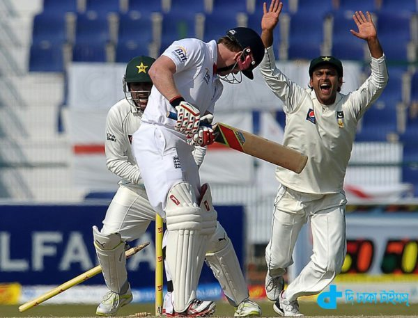 Pakistan won the first Test in Dhaka