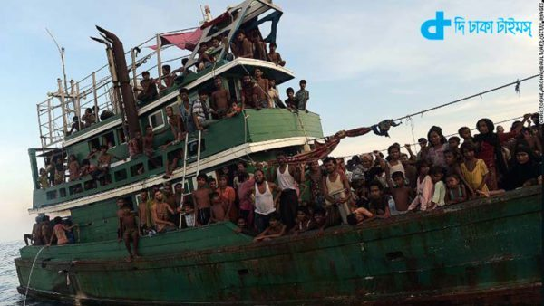 Rohingyas are still floating in the sea