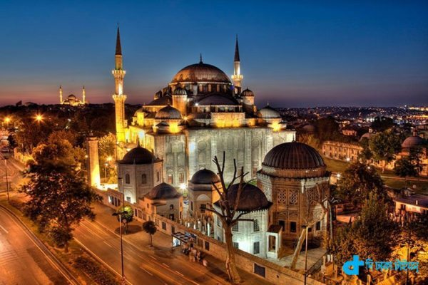 historic Sehajade mosques in Istanbul