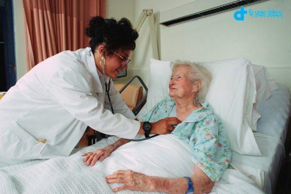 Doctor Examining an Elderly Patient