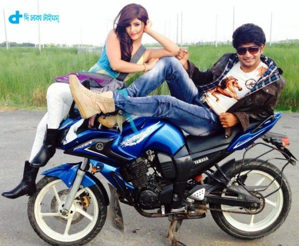 Bappi and pari mani film Lover Number One