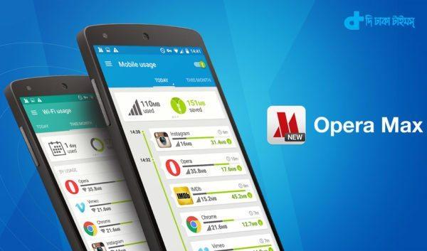 Opera Max-Data save App