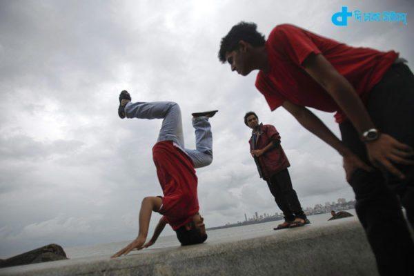yogasana to register the Guinness Book