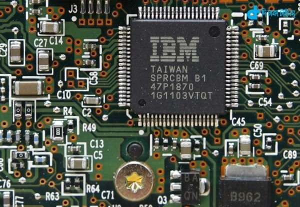 IBM developed high-speed chip