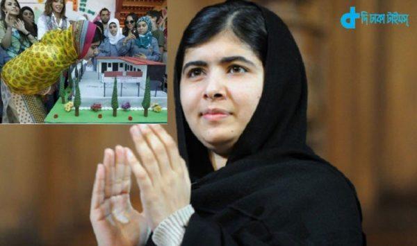 The school opened Malala