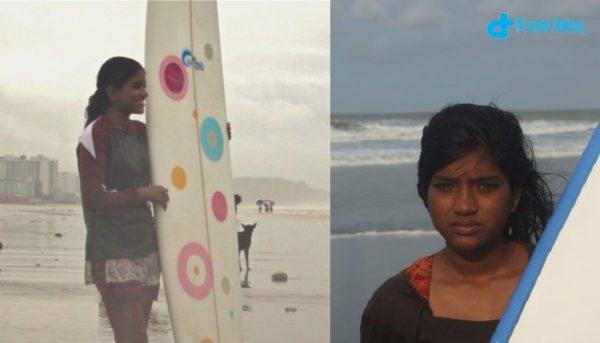 story of the surfer girl Nasima