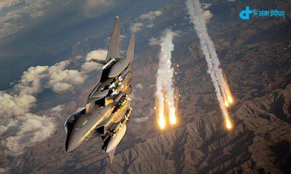 Pak The air attack kills 65 militants