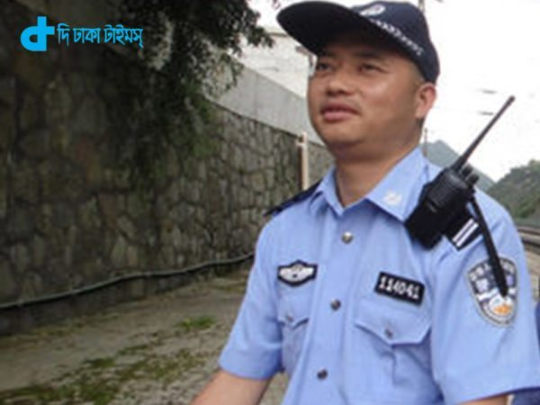 "Pic shows: The blind policeman Pan Yong. The story of a blind policeman whose loyal wife acts as his eyes has been inspiring people across the country, with the policeman's patrol area possibly one of the safest in the country. Pan Yong is the only policeman stationed at Lanba police station near the local train station in Guiyang City, capital of south-west China's Guizhou Province. After he began losing his eyesight in 2002 because of glaucoma and a cataract, his wife has walked him on daily security checks of the railway station entrance for over 10 years. The 43-year-old's wife, Tao Hongying, 46, also works at the train station but as a security guard. She believes it was ""fate"" that brought the two together. The story of Pan Yong and Hongying is impressive not only because of the incredible loyalty shown between the couple, but also because during the time that Pan Yong has been stationed at Lanba police station, he and his wife have created what has been called a ""miracle"" in terms of public security. There have been no criminal cases, no public security cases, and no traffic accidents over the 10-odd years Pan Yong has been stationed in Lanba as the only officer, something the locals have attributed to the couple's good karma. Pan Yong, who said he ""grew up in a police station"", is well known in the town for being hardworking and modest. He said: ""I have a small position but I love this profession. My wife calls me a workaholic."" He added: ""I just feel like I'm contributing more when I stand at my post, even when I don't have to. Although I can't see the trains anymore, I can still hear them."" Pan Yong said he thought his life was ""finished"" when he began losing his eyesight in 2002, but his wife's encouragement gave him renewed hope that he could perform his duties. The couple married in 2004, with Hongying recalling that it was Pan Yong's ""willpower"" that attracted her. Pan Yong said of Hongying's physical and mental support:"