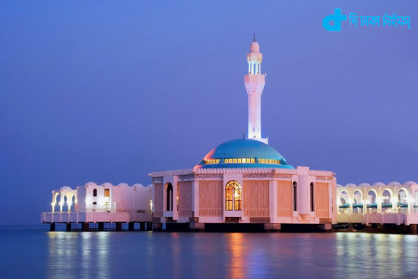 Floating Mosque in Jeddah
