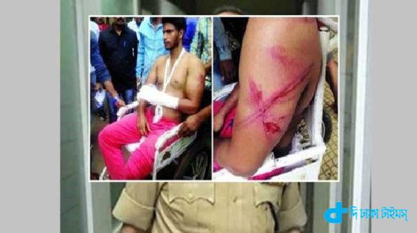 Mumbai police & two Muslim youths