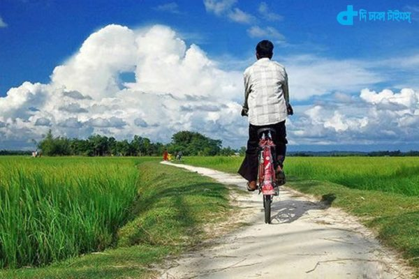 One of the landscapes of rural Bengal