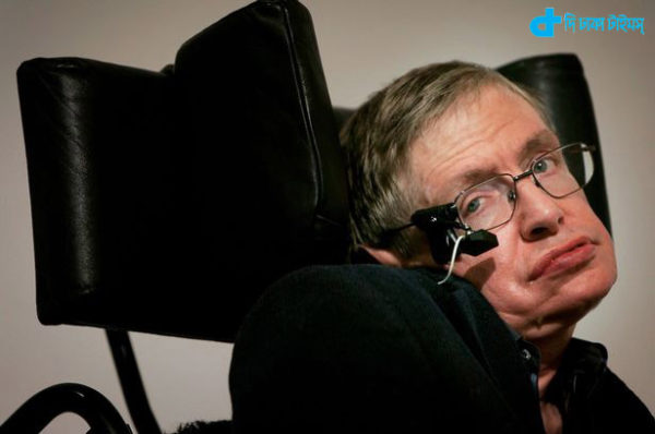 Stephen Hawking and his speech