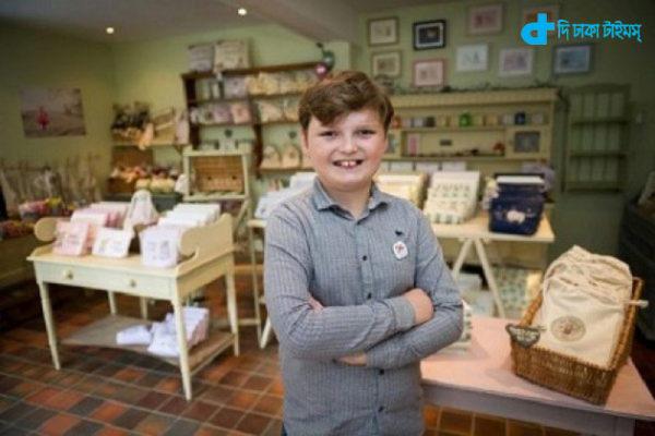 11 year-old businessman