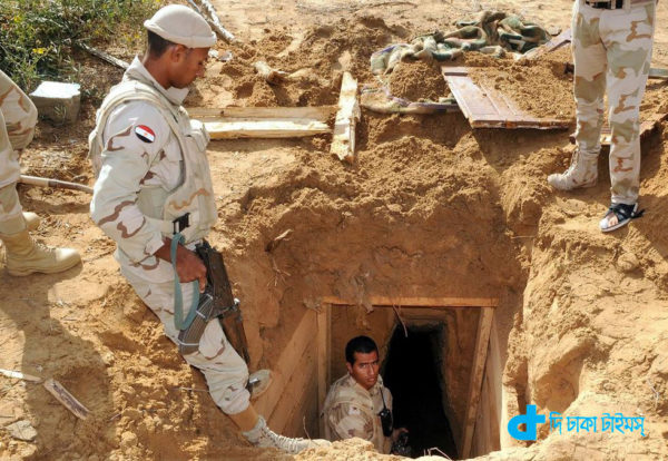 Iraq in the tunnel