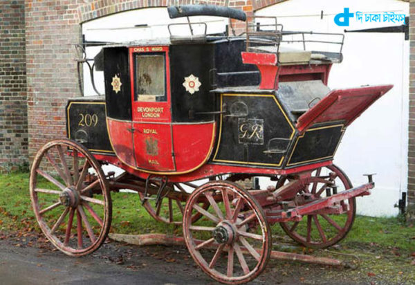 auction of 200-year-old coach of Royal Mail