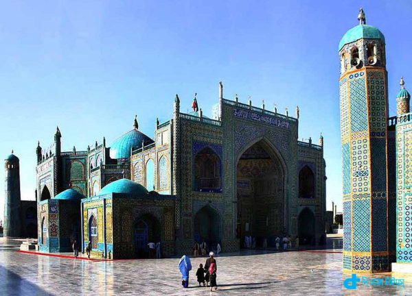 Afghanistan's famous Blue Mosque
