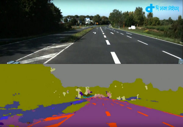 Self-driven cars for new 'segnet' system