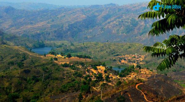 Wonderful green hills Bandarbon