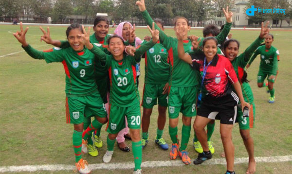 champion of the women's Bangladesh
