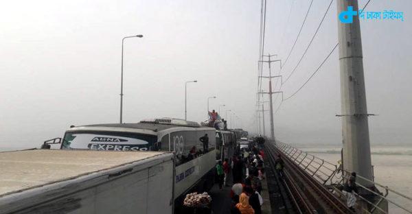 Bangabandhu Bridge accident in series