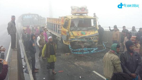 Bangabandhu bridge crash kills 9
