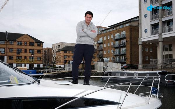 British MP in boat