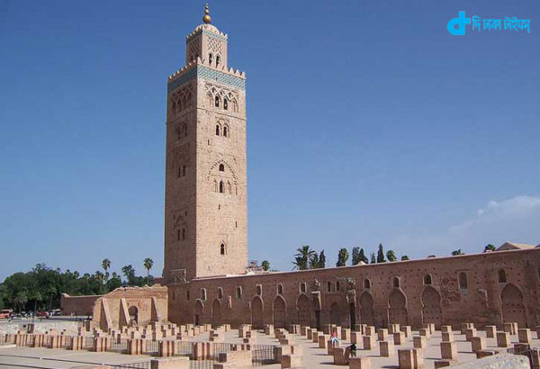 Kutubiy Mosque in Marrakesh, Morocco
