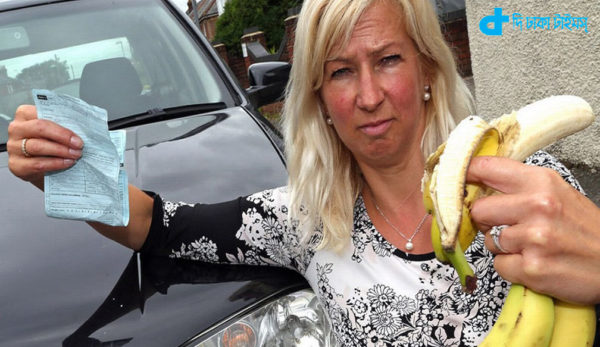 fined to eating bananas