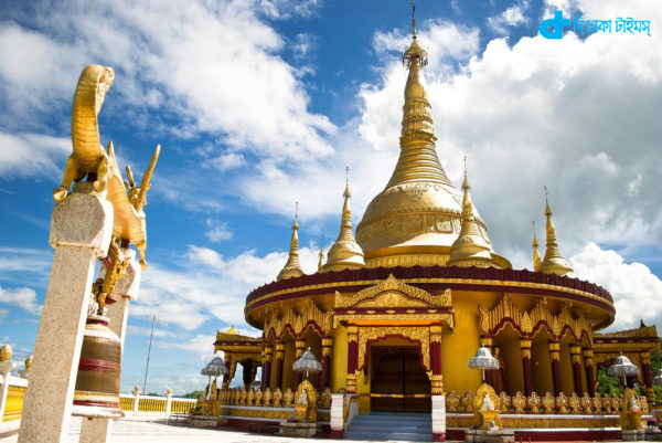 Bandarban Golden Temple being banned for tourists