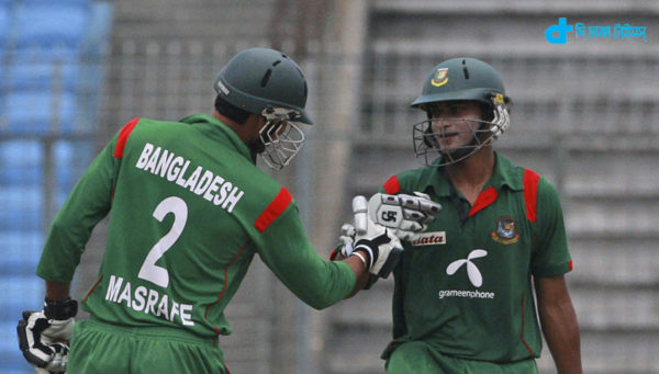 Bangladesh a target of 167 runs to bat