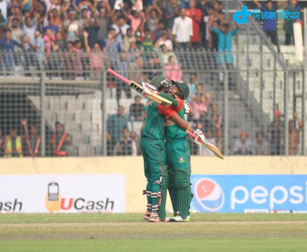 Bangladesh gave 134-run target