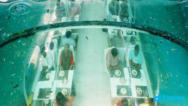 India's first underwater restaurant