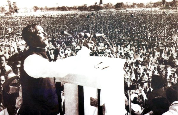 Today historic 7th March
