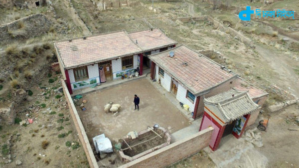 A 10-year-old man who lives in a village-2