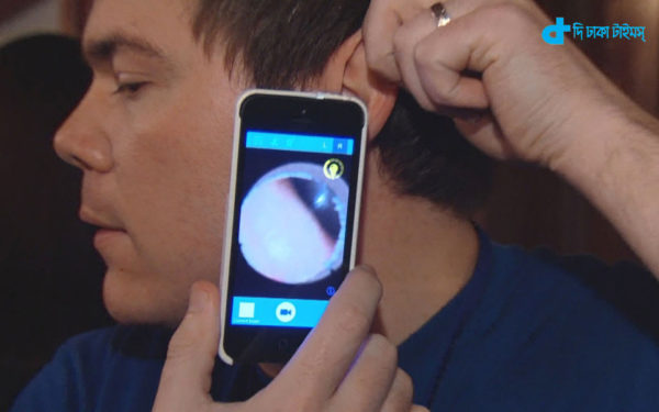 Ear infections heal smartphone
