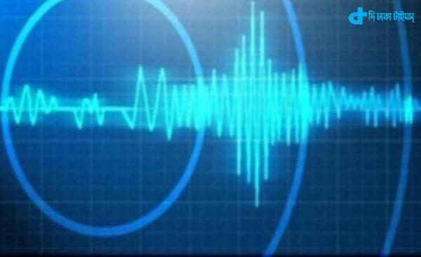 Mild earthquake felt