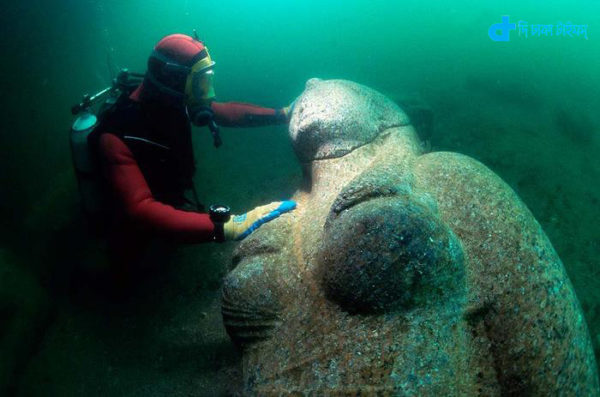 Egypt in search of lost under sea