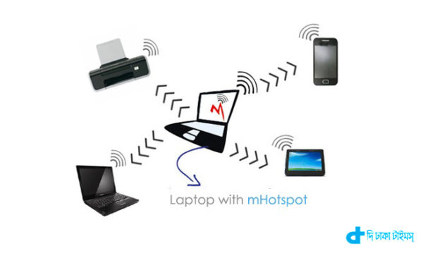 Make laptop WIFI-Hotspot