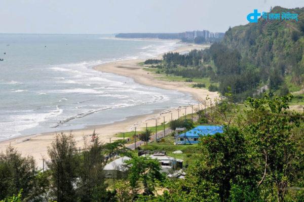 world's longest sea beach of Cox's Bazar