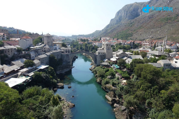 Bosnia-Herzegovina and Turkish bridge Scenic view